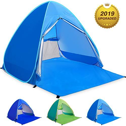 WloveTravel Tente de Plage Bebe Tentes Portable Extérieur pour 2-3 Personnes, Tente Anti UV pour...