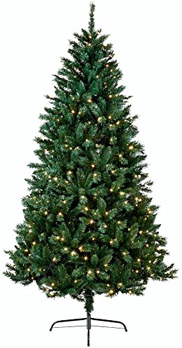 Christmas Tree Indoor 7ft Artificial Snow Tipped 2.1...