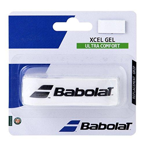 Babolat Xcel Gel X 1 Accesorio Raqueta de Tenis, Unisex Adulto, Blanco,...