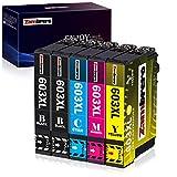 Zambrero 603XL Cartuchos de Tinta Reemplazo para Epson 603 Tinta, Compatiable con Epson Expression Home XP-2100 XP-2105 XP-3100 XP-3105 XP-4100 XP-4105, WorkForce WF-2810 WF-2830 WF-2835 WF-2850