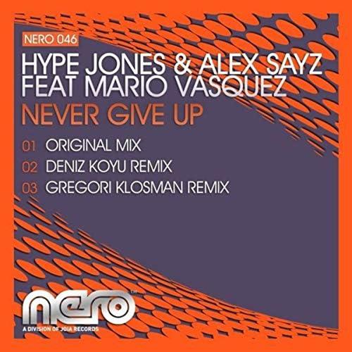 Hype Jones & Alex Sayz feat. Mario Vasquez