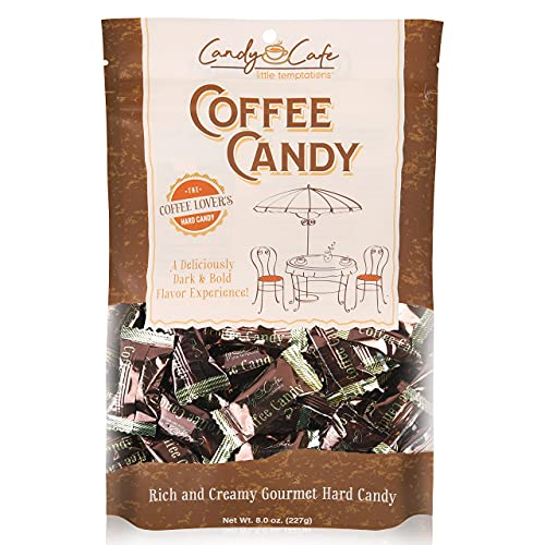 Candy Shop Coffee Candy, Rich and Creamy Gourmet Hard Candy , 8 oz. Bag