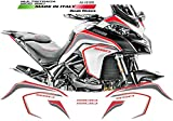 Kit de Pegatinas para Ducati Multistrada 950-1200 Dvt Blanco