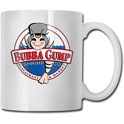 Tassen Bubba Gump Fashion Design lustige Kaffeetasse Tee Cup Geschenk für Fans Mann Frau Freundin weiß