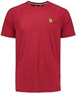 Scuderia Ferrari Formula 1 Men's Authentic 2018 Red Short Sleeve Midlayer Shirt