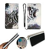 HUAYIJIE FY Flip Coque pour Qilive Smartphone Q2 20 5.5 Pouces Coque Etui Housse Case Cover HH