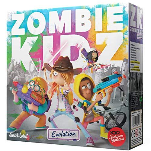 Scorpion Masqué- Zombie Kidz Evolution - Juego de Mesa - Español, Color,...