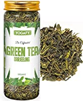 YOGAFY - Darjeeling Green Tea | Pure Whole Leaf - Decaf Tea for Slimming and Weight Loss | 100 Gram - 100 Cups |