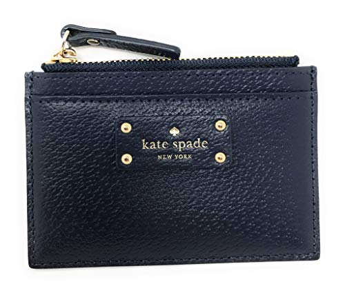 Kate Spade Grove Street Adi Wallet Coin Purse Business Credit Card Holder Case Navy