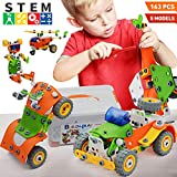 Nobranded STEM Learning Toys for Kids, Educational Engineering Building Toys Set, Erector Sets, DIY STEM Construction Kit for 6 7 8 9 10+ Year Old Boys & Girls Birthday Christmas