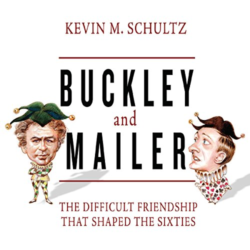 Buckley and Mailer audiobook cover art