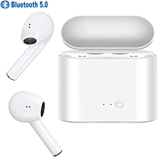 $45 Get Upgraded Bluetooth 5.0 Bluetooth Headphones HiFi 3D Stereo Sound with Charging Case