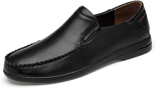 Xujw-chaussures, Chaussures Homme Homme Homme 2018 Chaussures habillées Confortables et légères, Confortables et à la Mode pour Hommes, Oxford (Couleur   Noir, Taille   41 EU) a2a
