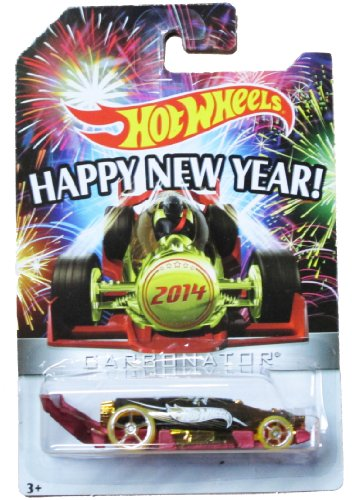 Hot Wheels 2017 Happy New Years Carbonator