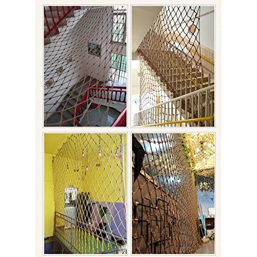 SEESEE.U Redes de Seguridad para escaleras y Redes de protección Red de Seguridad para niños Red de Malla de jardín Red de Aislamiento para el hogar al Aire Libre Gato Red de Cuerda anticaída