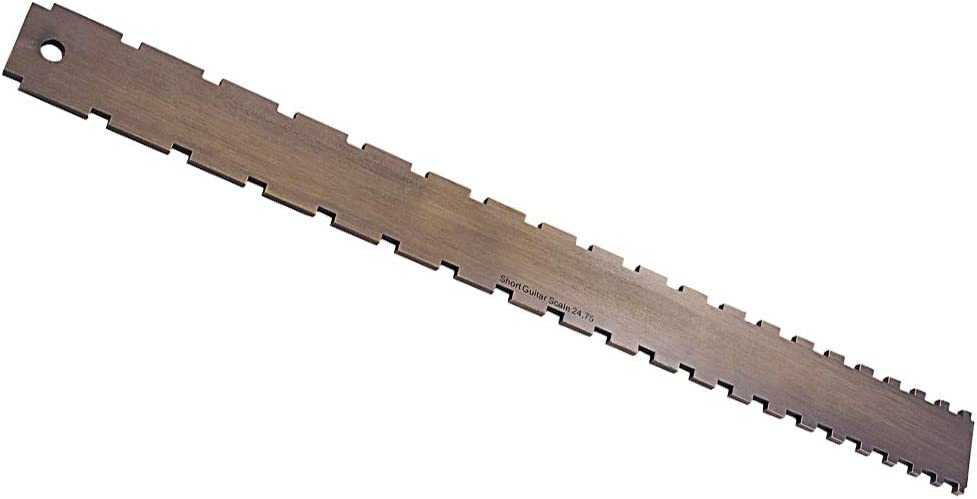 Baosity Practical Zinc Manufacturer Special price for a limited time OFFicial shop Alloy Guitars Neck Notched Edge Straight
