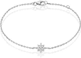 004b4040721da Rendez-vous RueParadis Paris - Bracelets Chaîne - Argent 925  Sterling/Massif - Zirconiums