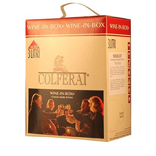 Colferai Azienda Vinicola BIB Merlot Veneto IGT 3 Liter 3.00 Liter