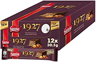 NESTLE 1927 Wafer covered in dark chocolate 30.5g (12 Pack)