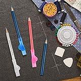 Zoom IMG-2 pennini da sarto 3 matite
