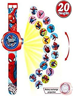 Spiderman Sp32485 Projector Watch For Boys - 20 Images