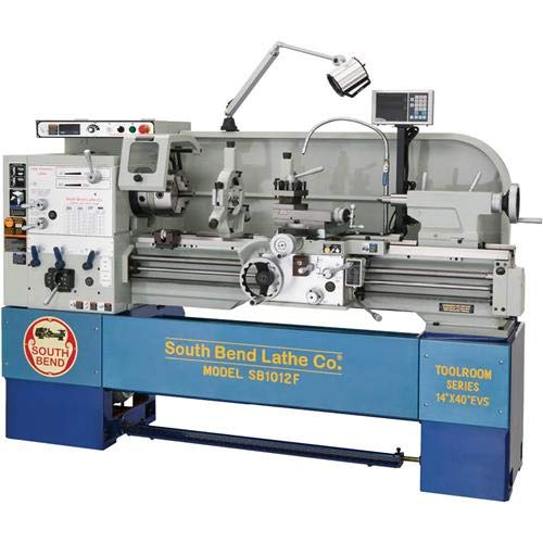 Buy Cheap South Bend SB1012F EVS Lathe with DRO, 14-Inch by 40-Inch