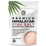 Earth Circle Organics Premium Himalayan Pink Fine Grain Salt, No Anti-Caking Agents, Pure Culinary Grade - Kosher, Nutrient and Mineral Dense, 1 Pound