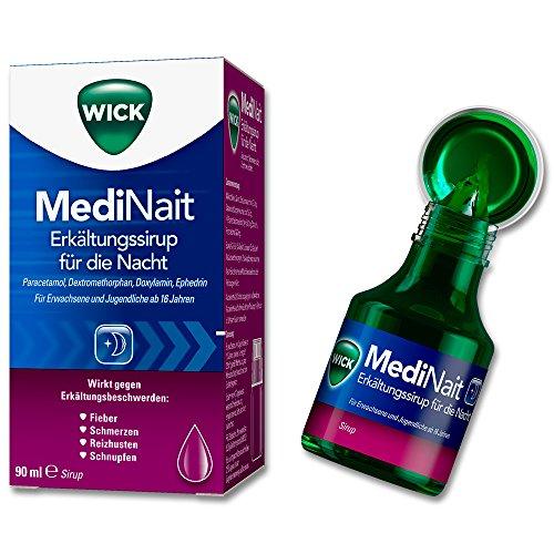 Wick MediNait Erk�ltungssirup, 90 ml