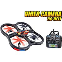 World Tech Toys Panther SPY UFO Video Camera 2.4GHz RC Quadcopter