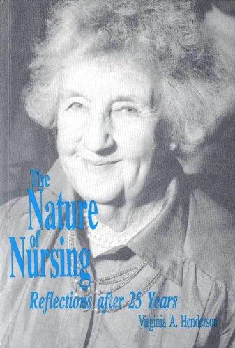 Nature of Nursing