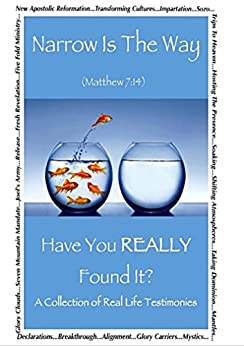 Narrow Is The Way - Have You Really Found It?: A collection of real life testimonies. by [M. Barbara Hansell, David Choiniere, Angie Deets, J.F. Keenan, Maria Chadim-Kirkpatrick, Joy McCloud, Tricia Pell, Jason Snider, Oscar J. Whatmore, Sound Word]