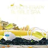 Bubble Bath Mat Tub Spa Massager, Waterproof Air Bubble Bath Tub Ozone Sterilization Body Spa Massage Mat with Air Hose(US Plug)