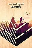 Mein Wandertagebuch - Rennsteig: Notiz- und Wandertagebuch zum Eintragen und Ausfüllen für Wanderungen, Bergwandern, Klettertouren und Hüttentouren ...   Tolles Geschenk für Wanderer   Wanderurlaub