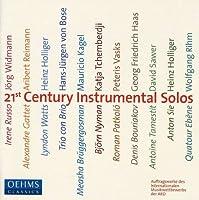 21st Centuy Instrumental Solos