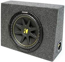 "ASC Package Single 10"" Kicker Sub Box Regular Cab Truck Subwoofer Enclosure C10 Comp.."