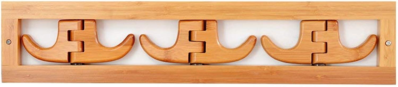 DYR Solid Wood Coat Hanger Porch Shelf Stable and Resistant Coat Rack (Dimensions  53  11 cm)