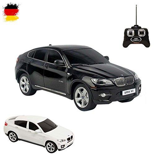 BMW X6 - RC ferngesteuertes Lizenz-Auto im Original-Design, Modell-Maßstab 1:24,inkl. Fernsteuerung