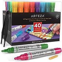 Arteza 40-Piece Acrylic Paint Marker Set