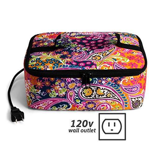 HotLogic Food Warming Tote, Lunch, Paisley