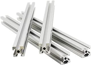 Iverntech 4pc 500MM T-Slot 2020 European Standard Anodized Linear Rail Aluminum Profile Extrusion for DIY 3D Printer