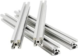 Iverntech 4pcs 600MM T-Slot 2020 European Standard Anodized Linear Rail Aluminum Profile Extrusion for DIY 3D Printer