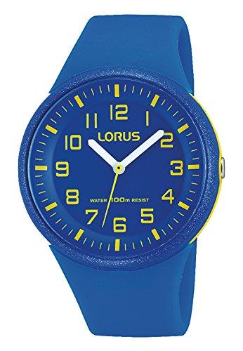 Lorus Fashion Damen-Uhr Edelstahl und Kunststoff mit Silikonband RRX51DX9