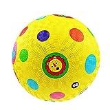 QqHAO Rubber Ball Juguete Inflable de niños, Puzzle Raqueta Adecuado para niños y niñas de 1-3 años (17cm)
