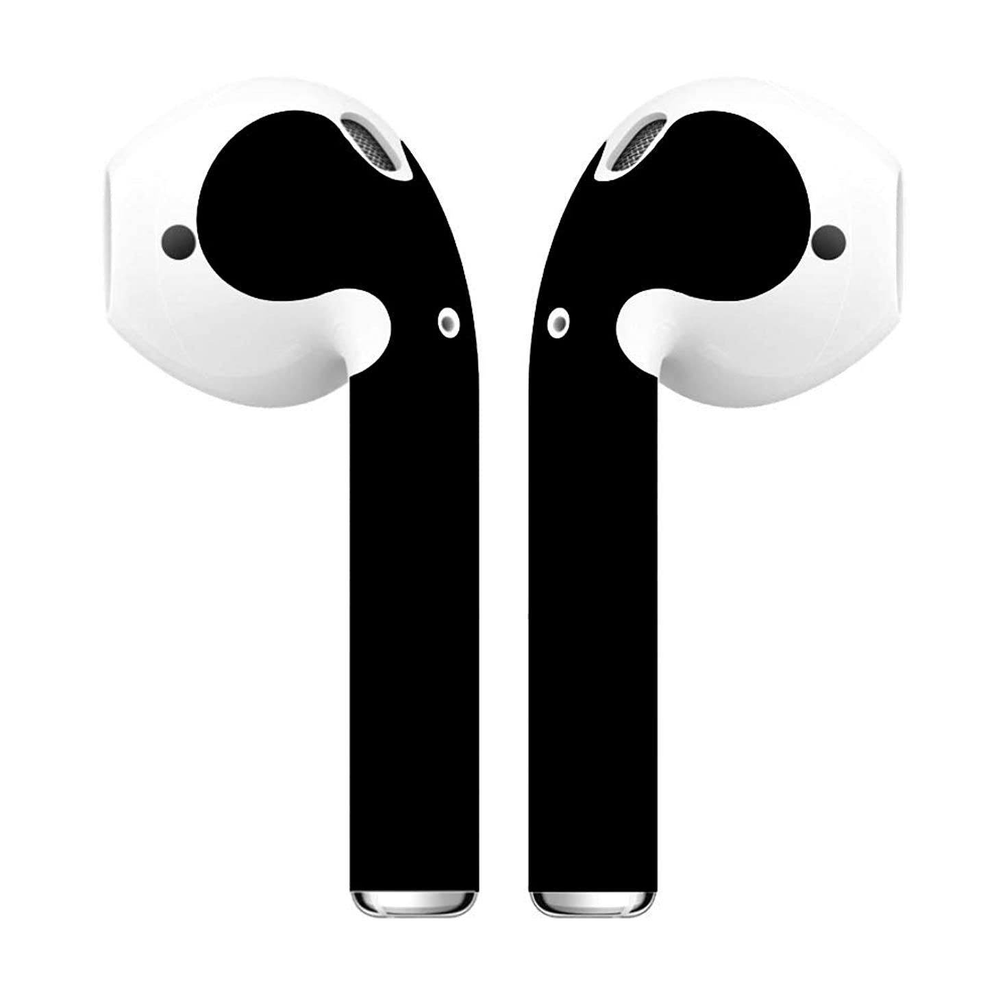 AirPod Skins, Wraps & Covers - Premium Accessories for Style, Customization & Protection - Compatible with AirPods 1 and 2 (Black Matte)