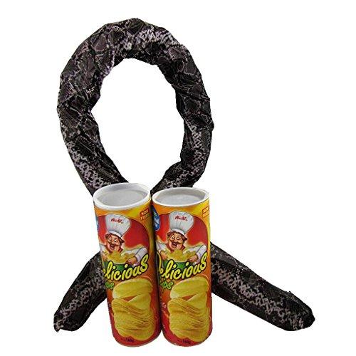 SM SunniMix Lustig Kartoffelchip Schlange Spielzeug für Jede Anlässe
