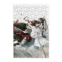 ミニパズル 魔道祖師(ダオマスター) 150ピース ジグソーパズル パズル アニメパターン 萌えグッズ 子供 初心者向け ギフト プレゼント 木製のパズル 壁の装飾 部屋の飾り 掛け軸ポスターアニメーション かわいい プレゼント 絵を掛ける 壁の装飾をする ジグソーパズル 10*15cm(箱入り)