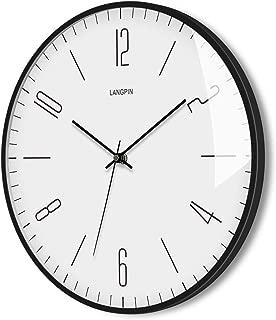 LANGPIN Silent & Non Ticking Modern Quartz Wall Clock 14