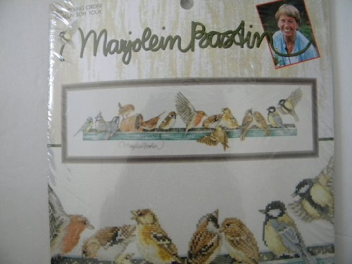 The Pecking Order Marjolein Bastin Counted Cross Stitch Kit