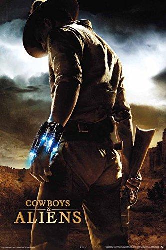 Close Up Cowboys & Aliens Poster Hauptmotiv (61cm x 91,5cm)