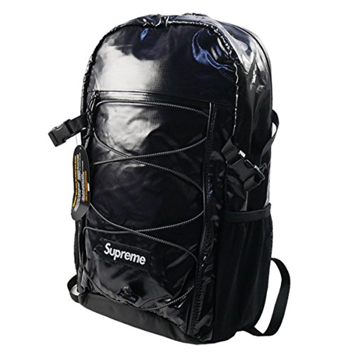 委任雄弁なゲージSupreme Backpack 17FW (シュプリーム バックパック 17FW)[J.Nセレクト] (Black)